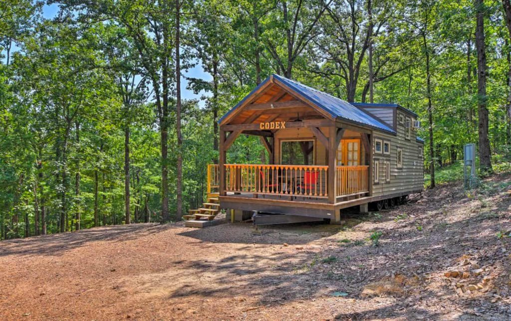 cabins in arkansas
